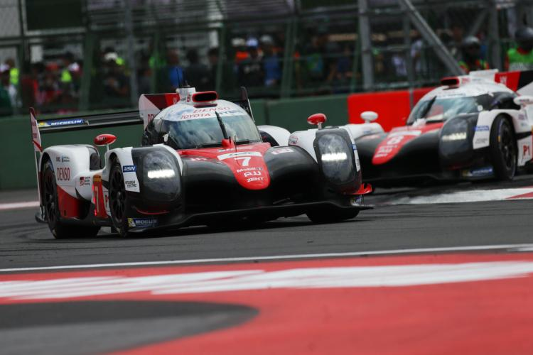 Toyota secures podium finish in challenging Mexico round of 2017 FIA World Endurance Championship